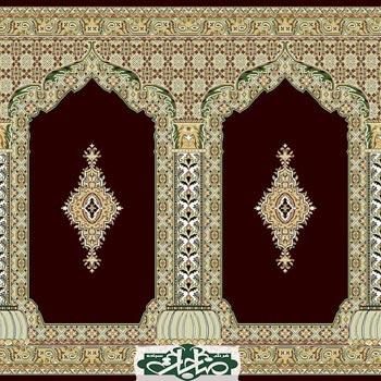 سجاده فرش مسجدی طرح 50020
