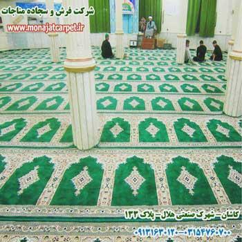 مسجد مفروش شده با سجاده فرش کد 50015