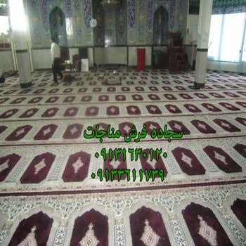 مفروش کردن مسجد با سجاده فرش 50036