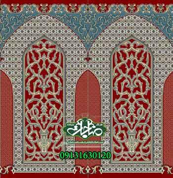 فرش مسجدی کد 50124