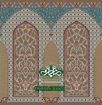 فرش مساجد محرابدار کد 50125
