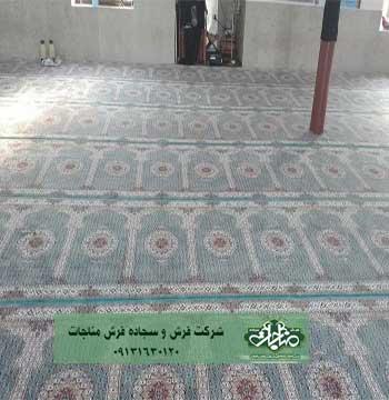 سجاده فرش مفروش شده کد 50103