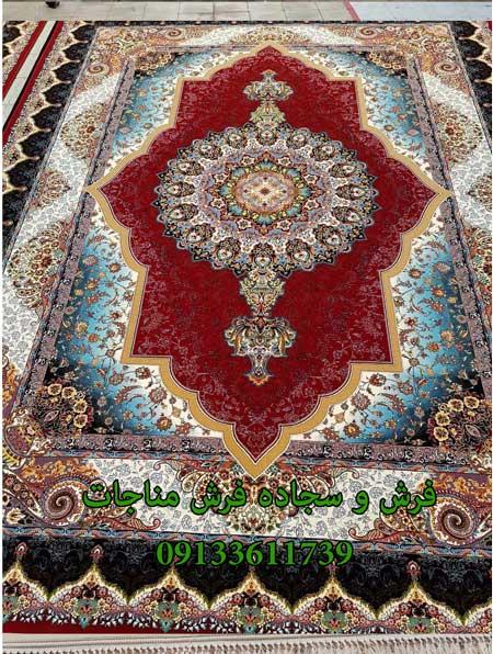 فرش ماشینی 1000 شانه طرح آراد روناسی