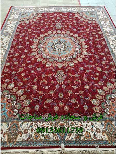 قیمت فرش ماشینی 12 متری ماهان روناسی