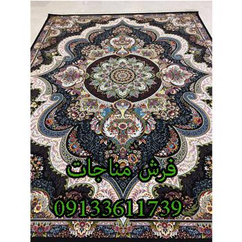 قیمت فرش ماشینی 12 متری طرح شهیاد مشکی