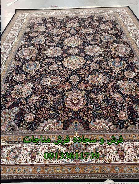 فرش ماشینی 1000 شانه طرح یاشار