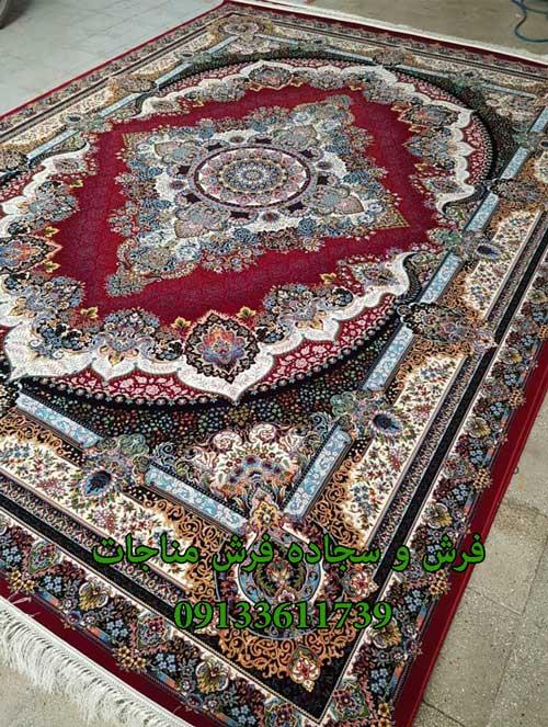 فرش ماشینی 1000 شانه طرح دیبا روناسی