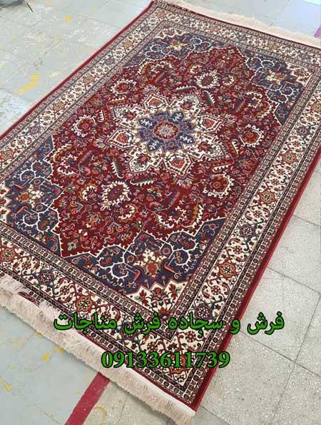 فرش ماشینی 1000 شانه گبه کد 254