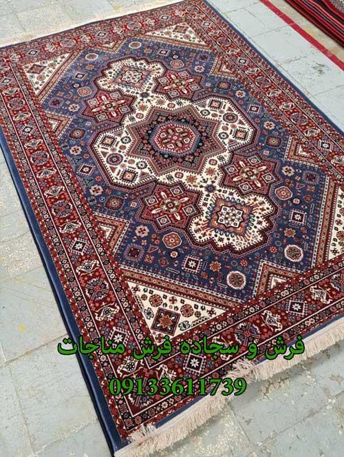 فرش ماشینی 1000 شانه گبه کد 261