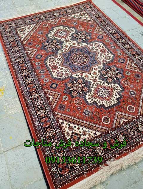 فرش ماشینی 1000 شانه گبه کد 262