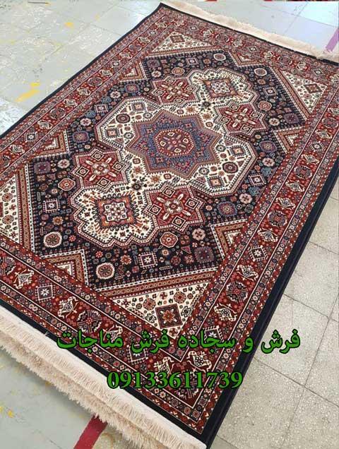 فرش ماشینی 1000 شانه گبه کد 263