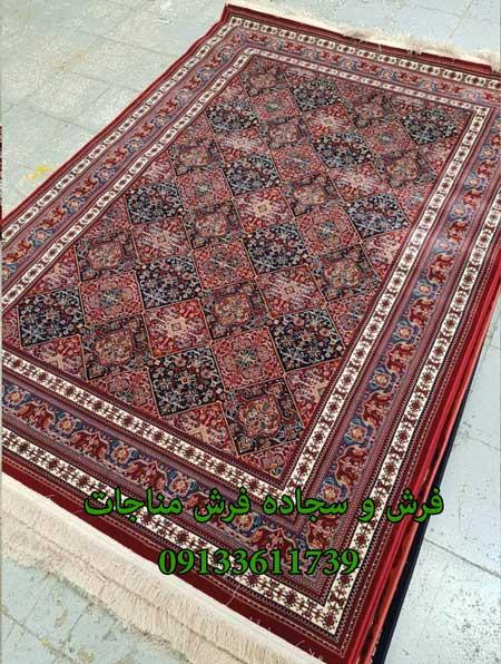 فرش ماشینی 1000 شانه گبه کد 268