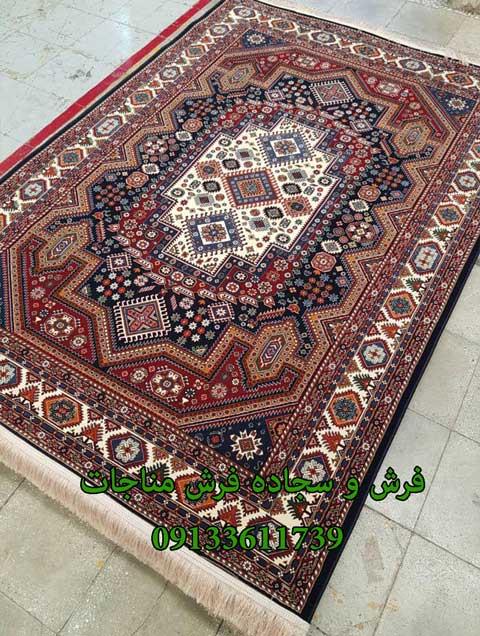 فرش ماشینی 1000 شانه گبه کد 273