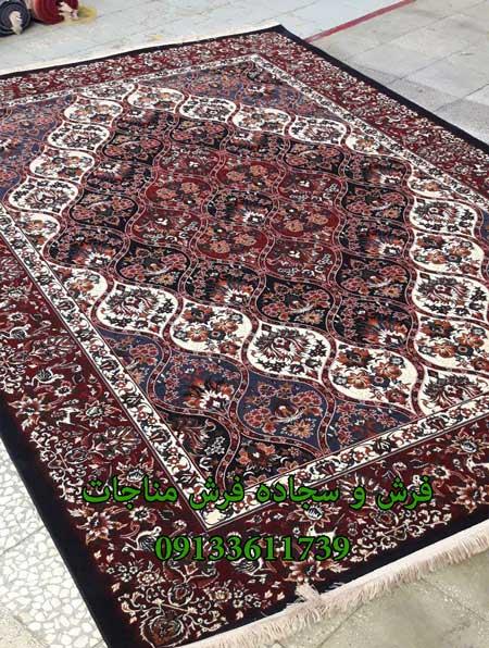 فرش ماشینی 1000 شانه گبه کد 274