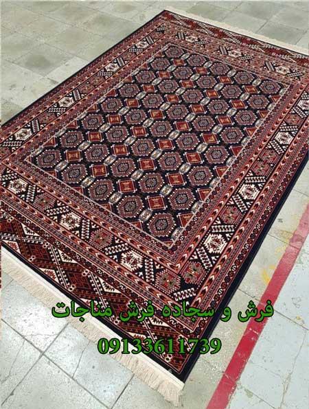 فرش ماشینی 1000 شانه گبه کد 276