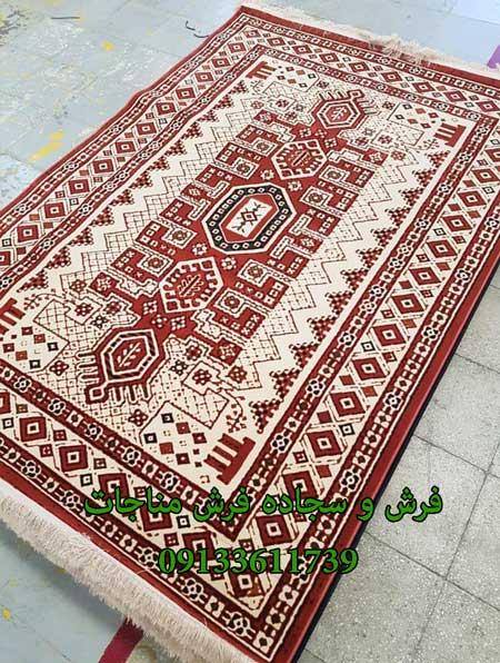 فرش ماشینی 1000 شانه گبه کد 278