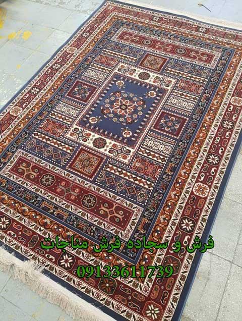 فرش ماشینی 1000 شانه گبه کد 282