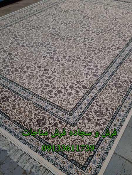 فرش ماشینی 1000 شانه طرح ترک لایت
