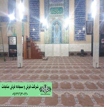 سجاده فرش مسجد مفروش شده کد 50271