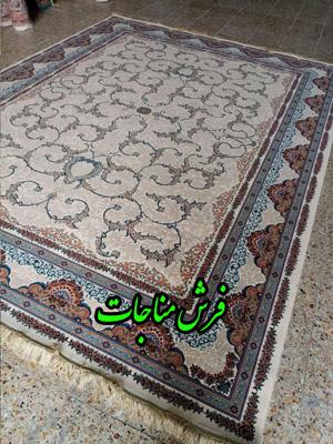 قیمت فرش ماشینی 1000 شانه طرح افشان لوتوس کرم